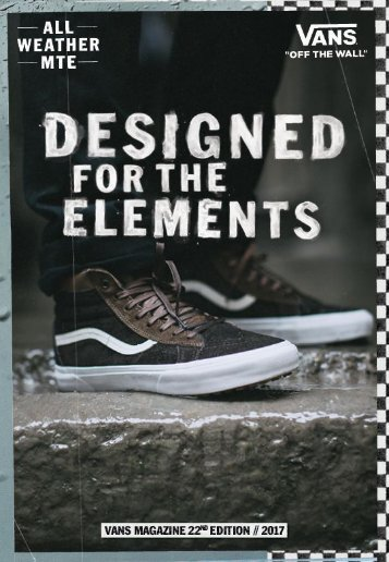 VANS magazine 22nd edition
