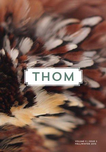 THOM 5 | Fall / Winter 2015