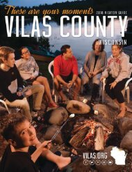 Vilas County Visitor Guide - 2018