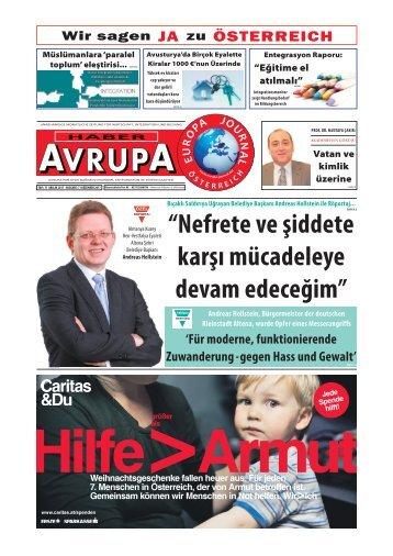EUROPA JOURNAL - HABER AVRUPA DEZEMBER 2017