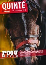 Analyse et programme du quinté pour ce week end PMU 16.12.17