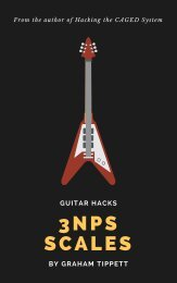 Guitar Hacks 3NPS Scales