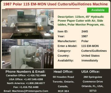 Buy-Used-1987-115-EM-MON-Polar-Cutters-Guillotines-Machine