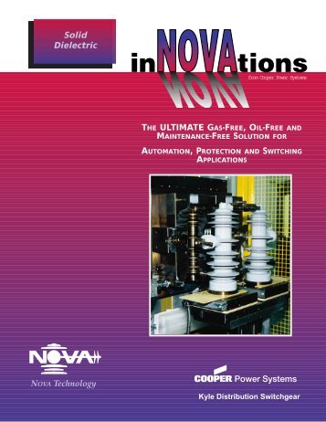 NOVA Technology Solid Dielectric THE ... - Cooper Industries