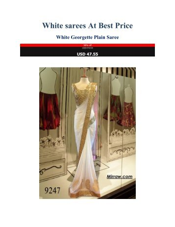 White_sarees_At_Best_Price