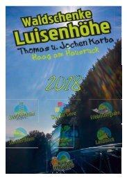 Waldschenke Kalender