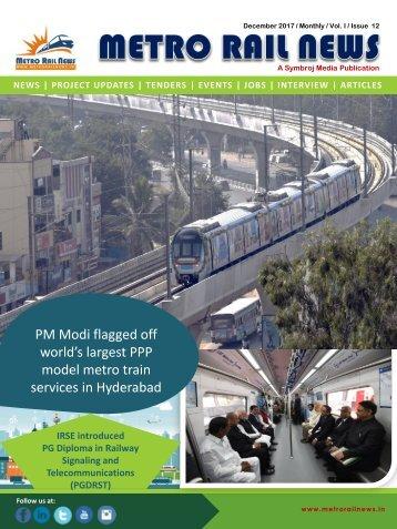 Metro Rail News December 2017