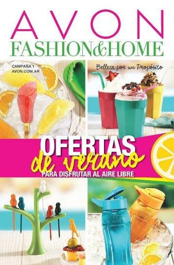 Avon Fashion and Home C 01-18