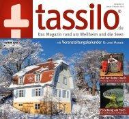 Tassilo, Ausgabe Januar/Februar 2018 - Das Magazin rund um Weilheim und die Seen
