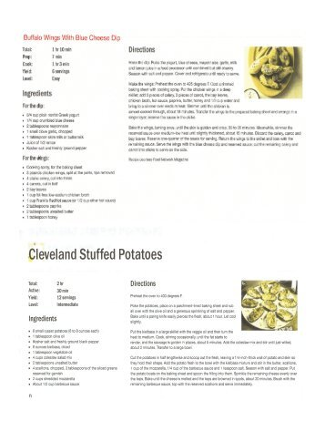 Super Bowl Recipes ID