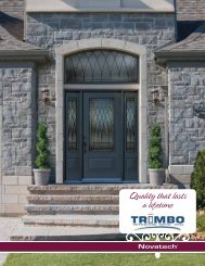 Quality that lasts a lifetime - Trimbo Window