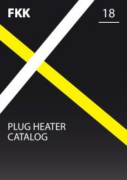 FKK Spark Plug / Ceramic Heater catalog 2018