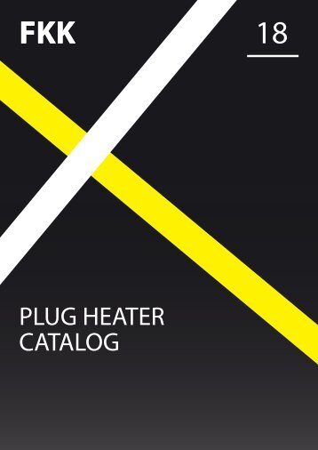 FKK Spark Plug / Ceramic Heater catalog 2018