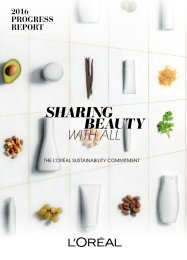 L'ORÉAL_sharing beauty with all