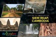 Explore the Treasures of Siem Reap, Cambodia
