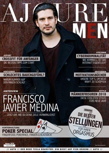 AJOURE´ Men Magazin Januar 2018
