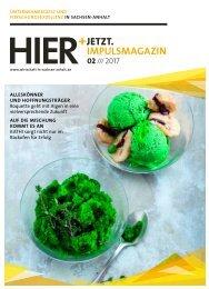 HIER+JETZT.Impulsmagazin // Ausgabe 02/2017