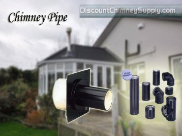 Chimney pipe from Discount Chimney Supply Inc.,Ohio