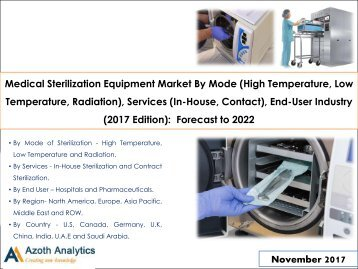 Global Medical Sterilization Equipment Market: Forecast to 2022