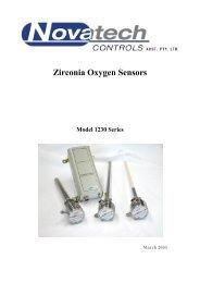 Zirconia Oxygen Sensors - DG Instruments