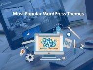 Most Popular WordPress Themes