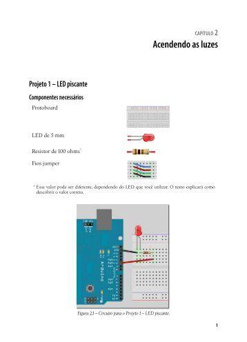 Projeto 1 – LED piscante - Novatec