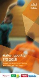 Aalen sportiv Frühjahr/Sommer 2018