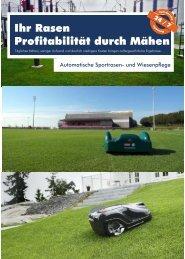 Profitable Rasenpflege für Industrie, Gewerbe und Sportverein