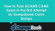 Cams Braindumps