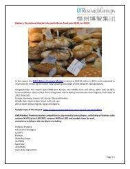 EMEA Bakery Premixes market