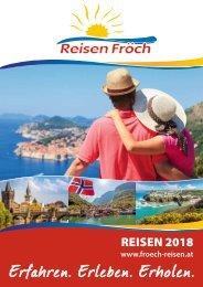 REISEN FRÖCH Katalog 2018