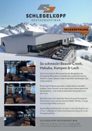 Plakat Schlegelkopf Restaurant