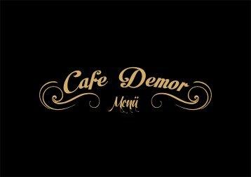 CafeDemor menü