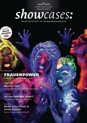 Powerfrauen im Fokus  - showcases 18-01