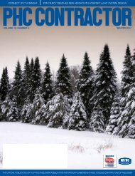 Wisconsin PHC Contractor Winter 2017