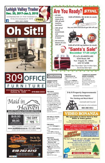 Lehigh Valley Trader December 20, 2017-January 3, 2018 issue