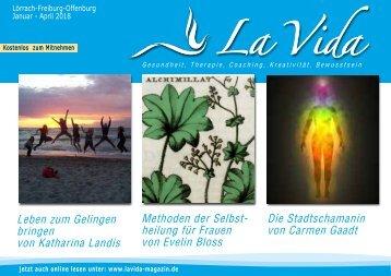 La Vida Magazin Ausgabe Jan. - April 2018
