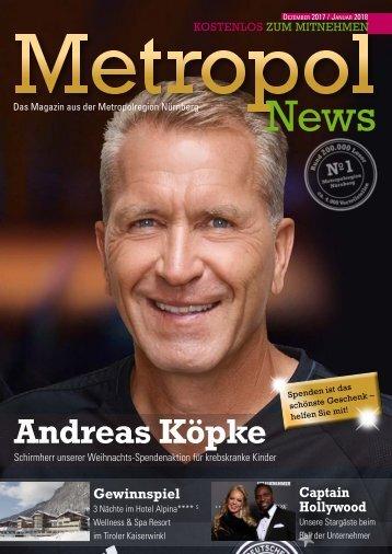 Metropol News Dezemer 2017