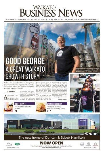 Waikato Business News December 2017/January 2018