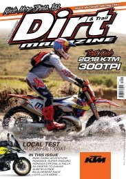 Dirt and Trail Magazine January 2018