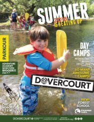 Dovercourt Summer Camps 2018