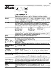 Cetol Novatech BP - MAUTNER