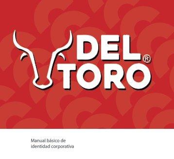 Manual de identidad corporativa  Del Toro