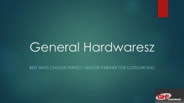 Best Ways Choose Perfect Vendor Partner for outsourcing