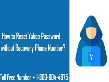 18006044875 Reset Yahoo Passwords without Recovery Phone Number