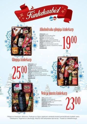 PROMO Cash&Carry Jõulukorvid