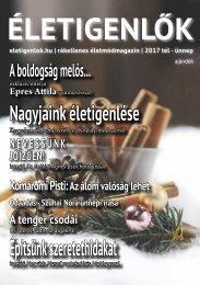 Életigenlők magazin 2017 tél