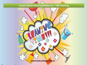 Carpet Steam Cleaning Melbourne - GSR Cleaning