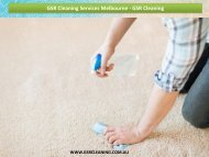 GSR Cleaning Services Melbourne - GSR Cleaning