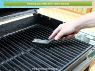 Cleaning your BBQ grill - GSR Cleaning